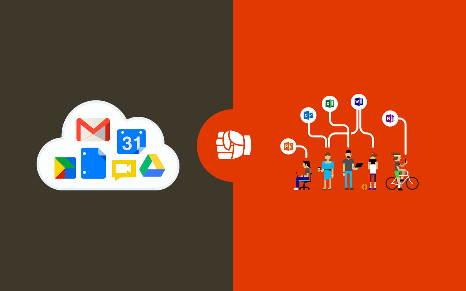 Office 365 groter dan Google Apps