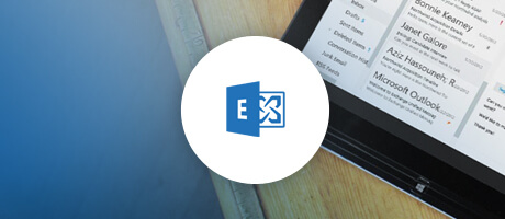 exchange online op een tablet