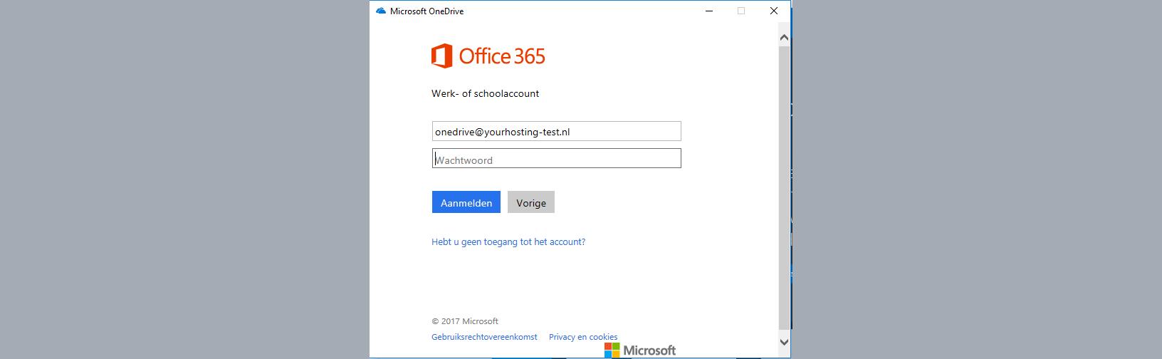 office 365 aanmelden