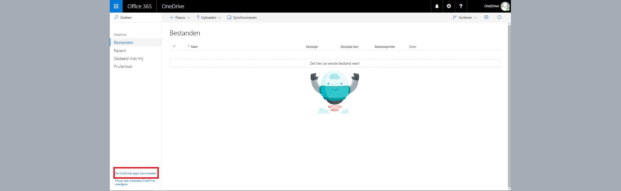 onedrive apps downloaden