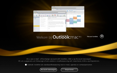outlook 2011 for mac welkom