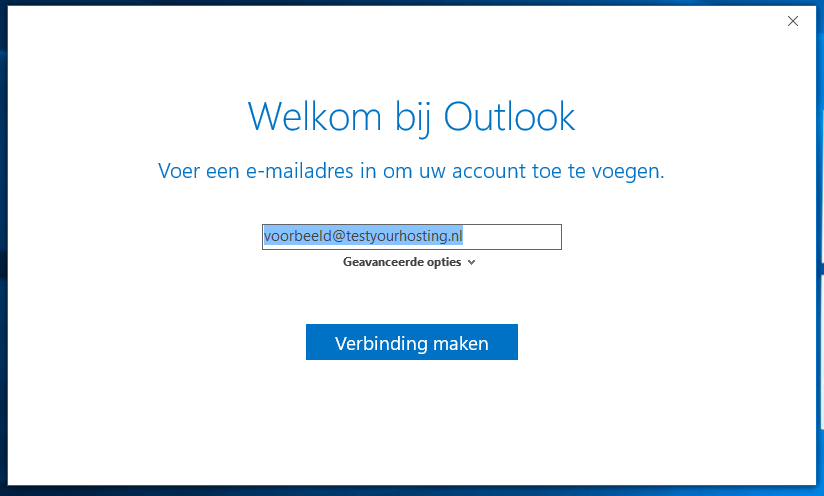 outlook 2016 welkom