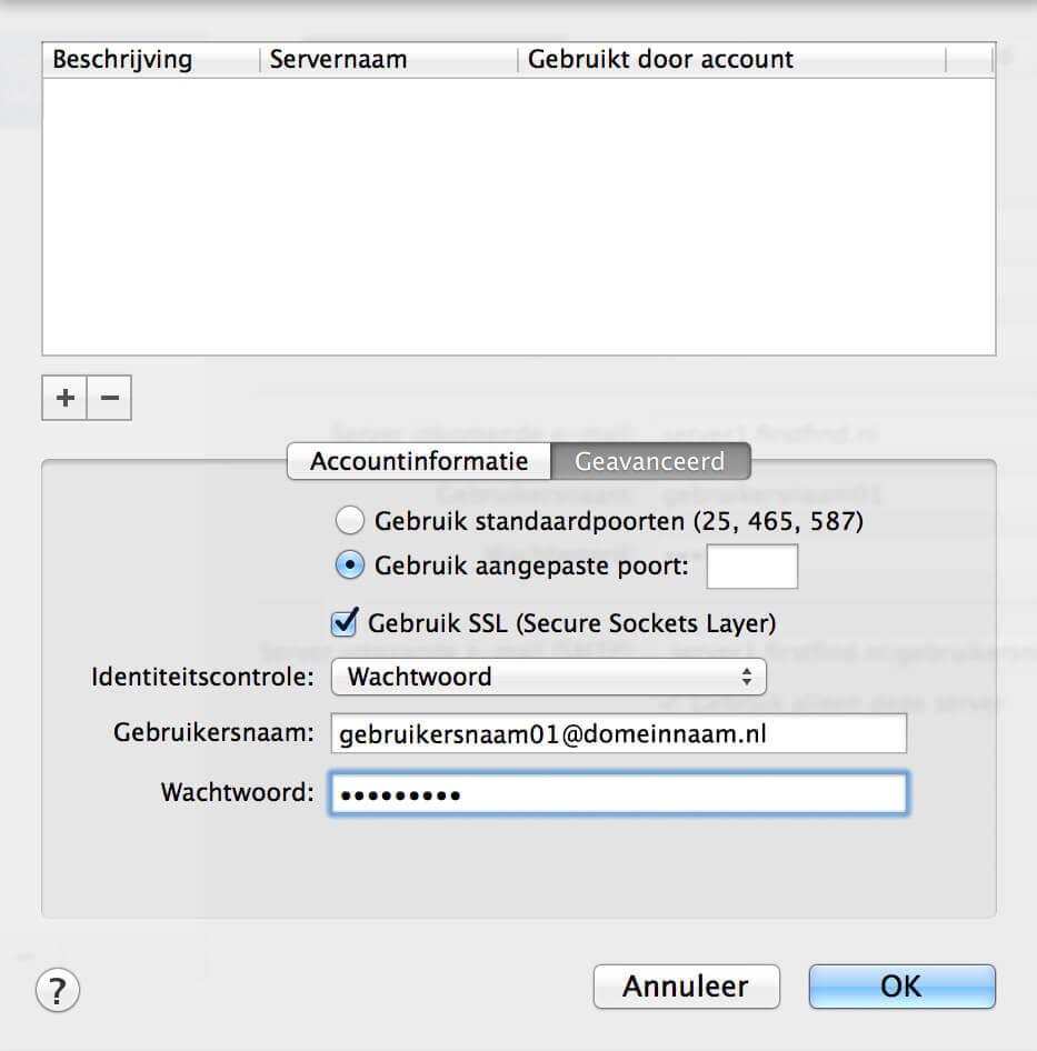 E-mail Apple instellen screenshot 10