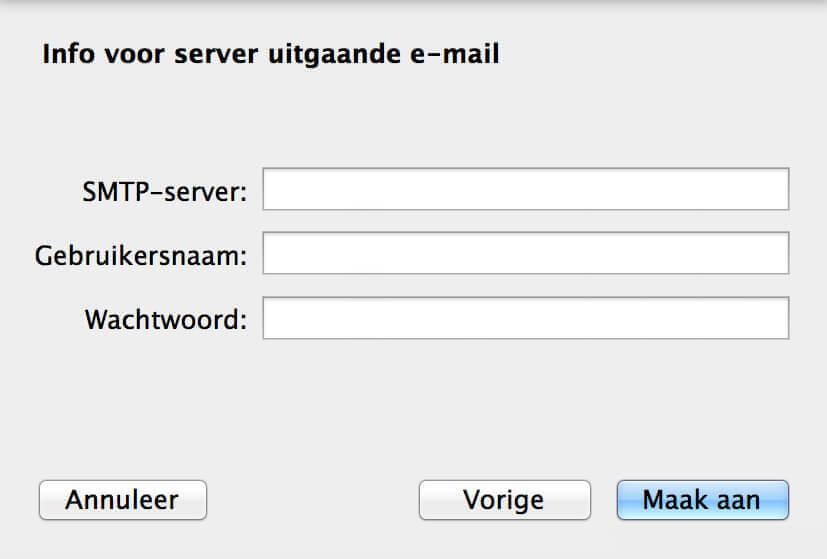 E-mail Apple instellen screenshot 7
