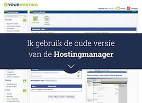Oude Hostingmanager